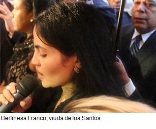Berlinesa Franco viuda de los Santos, Juan de los Santos, Puerta del Cielo,