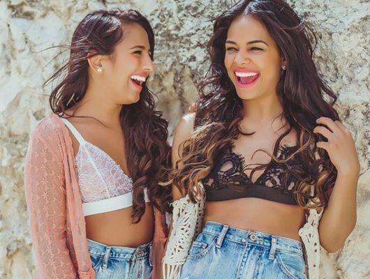 Paloma de la Cruz Rocío Rodríguez Fashionistas Bralettes moda