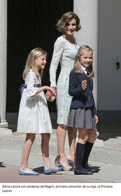 Magrit, familia Amat, ciudad de Alicante, España, Madrid, Channel, Reina Letizia, zapatos,