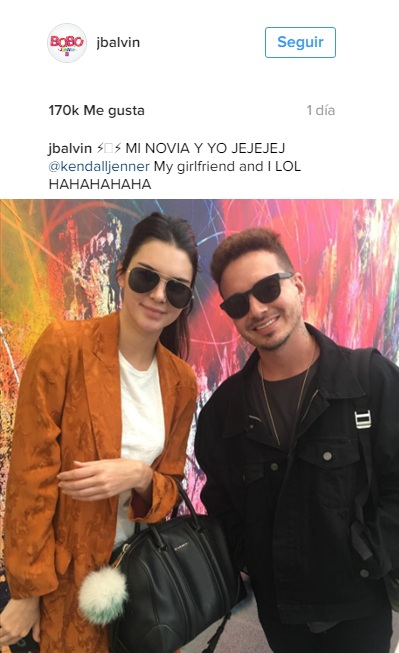 J Balvin, Maluma, modelo, novia, Kendall Jenner,