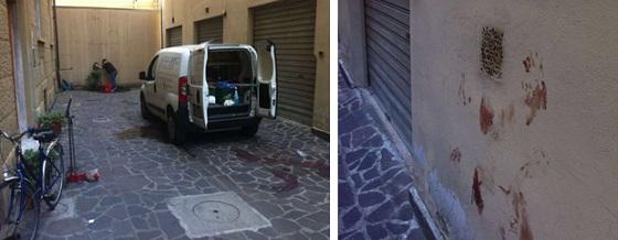 policía italiana, Italia, Florencia, La Vega, Jima Abajo, italiano asesina transexual,