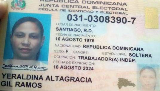"seguridad ciudadana, autobús, parada de autobuses ""Javilla Tours"", Puerto Plata, Yeraldina Altagracia Gil Ramos,"