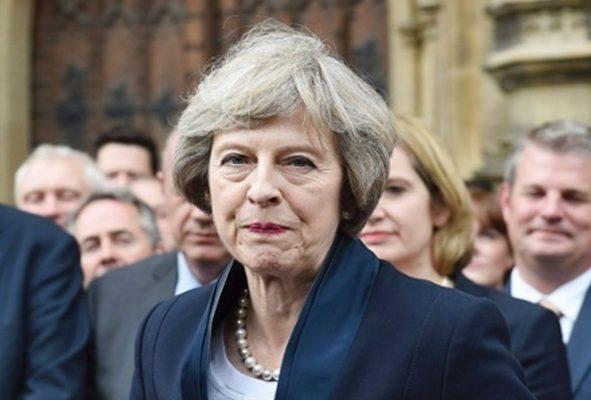 Theresa May gobierno británico David Cameron Primer Ministro secretaria del Interior del Gran Bretaña